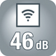 46 dB leise