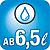 Frischwasserspüler ab 6,5 Liter Wasserverbrauch  Minimaler Verbrauch: Im Programm Automatic mit besten Reinigungsergebnissen schon ab 6,5 l Wasserverbrauch.