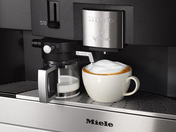 miele einbau kaffeevollautomat cva 6431 vs elektro. Black Bedroom Furniture Sets. Home Design Ideas