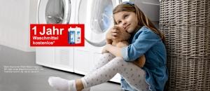 Miele 1/2 Jahr Waschmittel kostenlos