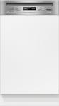 Miele G 4820 SCi integrierbarer Geschirrspüler Edelstahl