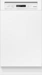 Miele G 4820 SCi integrierbarer Geschirrspüler Brillantweiß