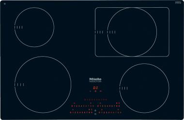 Miele KM6352, Herdunabhängiges Induktionskochfeld mit 4 Induktionskochzonen und Direktanwahl Plus inklusive Timerfunktion für größtmöglichen Bedienkomfort.