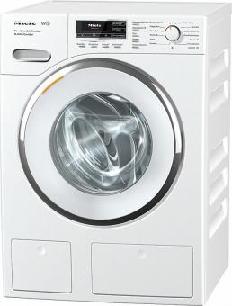 Top - Miele Waschmaschine WMR863 WPS, A+++, 1-9 Kg, bis 1600 U/min, SteamCare, LED-Beleuchtung, TwinDos, CapDosing, PowerWash, TFT-Display, Einzelteilemix, gerade Blende.