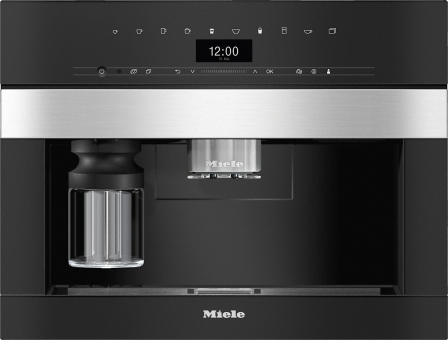 Miele Einbau-Kaffeevollautomat CVA 7440 Edehlstahl Cleansteel