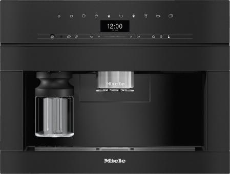 Miele Einbau-Kaffeevollautomat CVA 7440 Obsidianschwarz