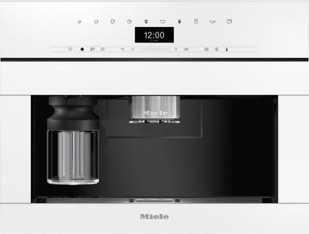 Miele Einbau-Kaffeevollautomat CVA 7440 Brillantweiß