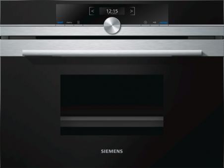 Siemens Dampfgarer iQ700 CD634GBS1 schwarz