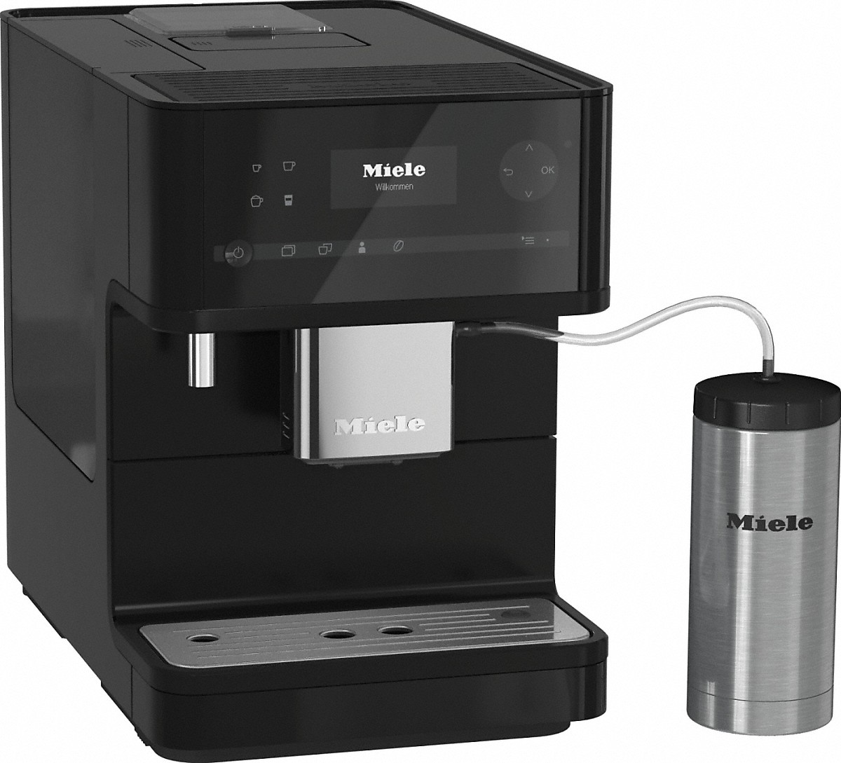 miele kaffeevollautomat cm 6350 blackedition vs elektro. Black Bedroom Furniture Sets. Home Design Ideas