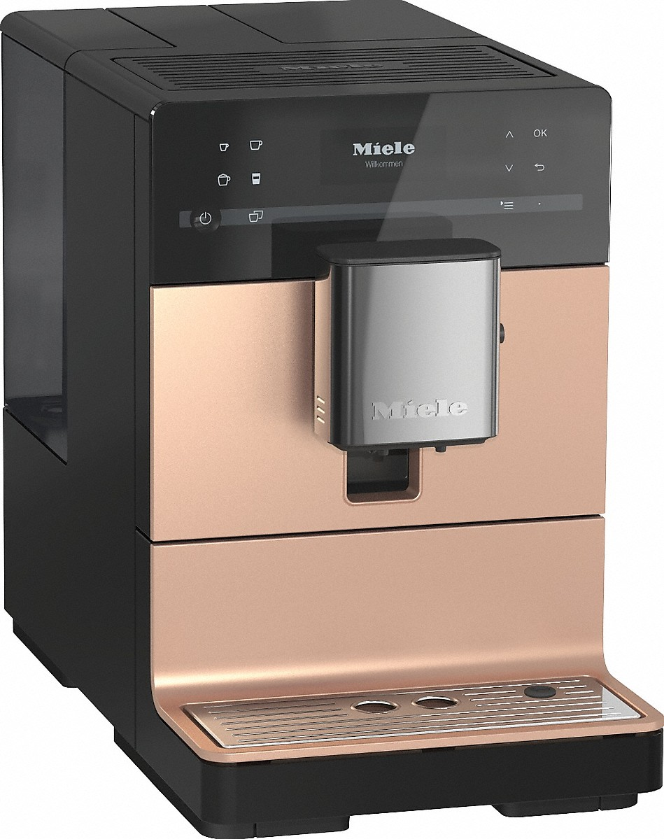 miele kaffeevollautomat cm 5500 ros gold vs elektro. Black Bedroom Furniture Sets. Home Design Ideas