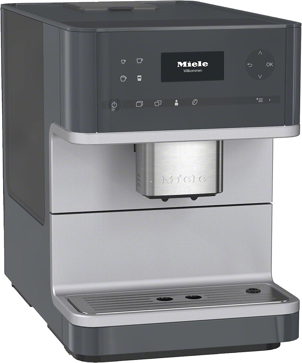 miele kaffeevollautomat cm 6110 graphitgrau vs elektro. Black Bedroom Furniture Sets. Home Design Ideas