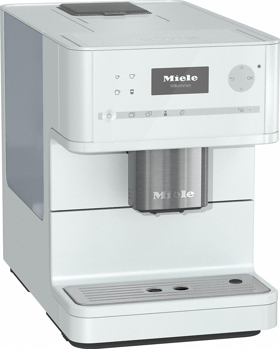 Miele kaffeevollautomat cm 6150 lotosweiss vs elektro for Kaffeemaschine miele