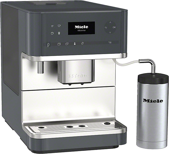 miele kaffeevollautomat cm 6310 graphitgrau vs elektro. Black Bedroom Furniture Sets. Home Design Ideas