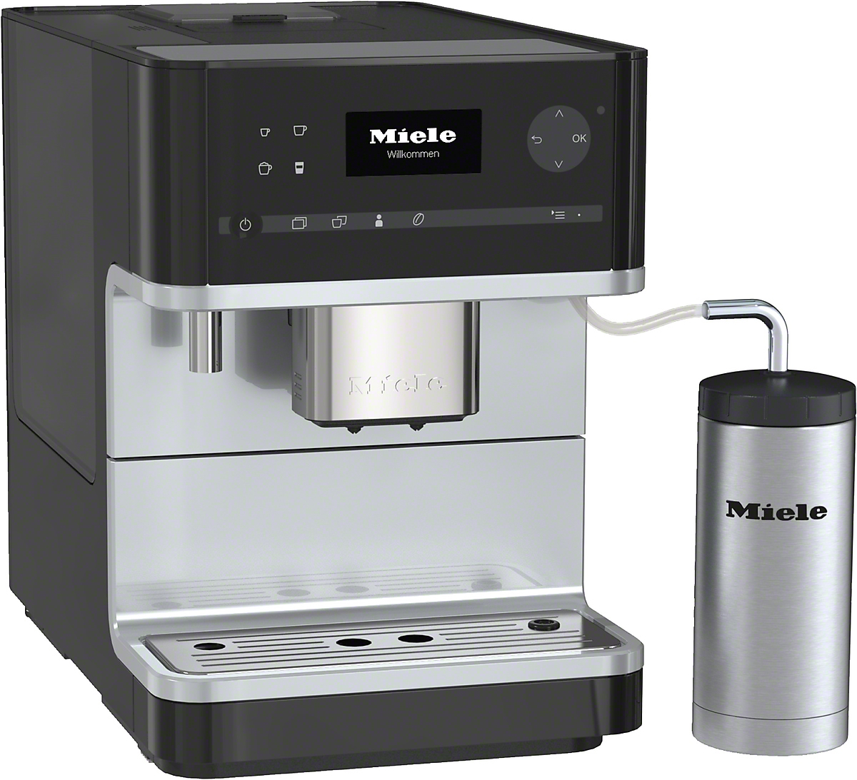 miele kaffeevollautomat cm 6350 blackedition vs elektro. Black Bedroom Furniture Sets. Home Design Ideas