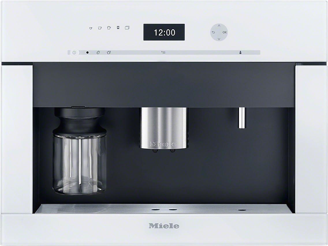 Miele Einbau-Kaffeevollautomat CVA 6401 Brillantweiß | VS Elektro | {Einbaukaffeevollautomaten 20}
