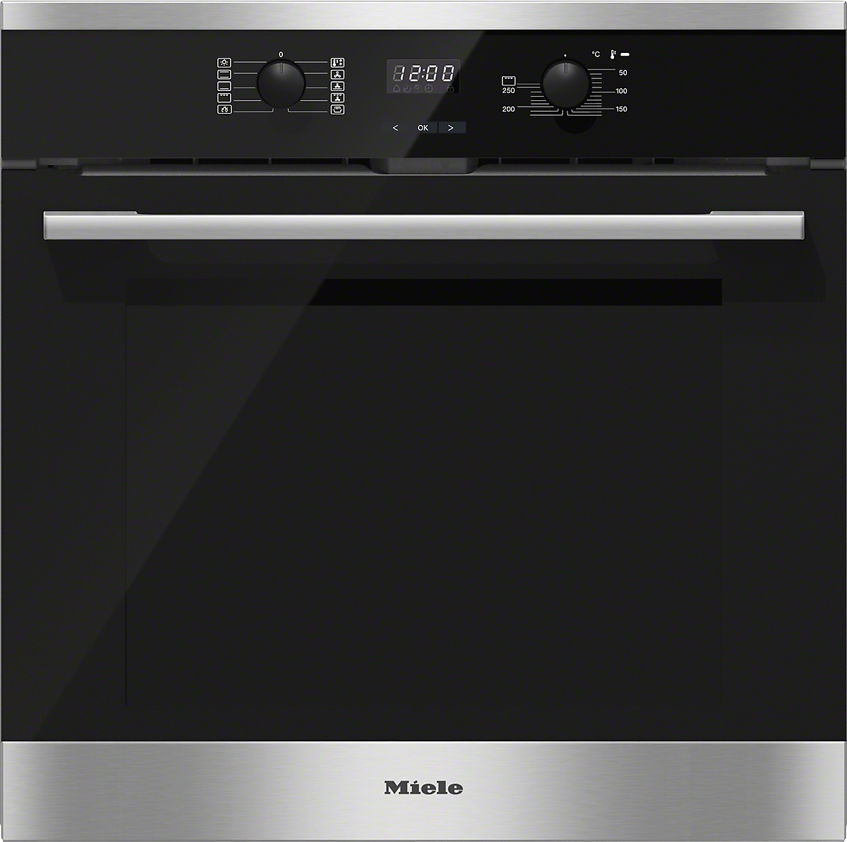 miele einbau backofen h2561 bp edelstahl cleansteel vs elektro. Black Bedroom Furniture Sets. Home Design Ideas