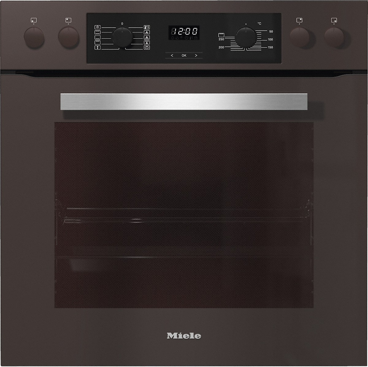 miele herdset h 2265 e active havannabraun km6024 vs elektro. Black Bedroom Furniture Sets. Home Design Ideas