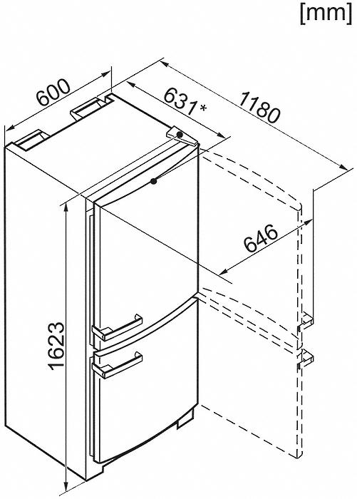 hausger te miele k hl gefrier kombination kd 12625 s edt. Black Bedroom Furniture Sets. Home Design Ideas