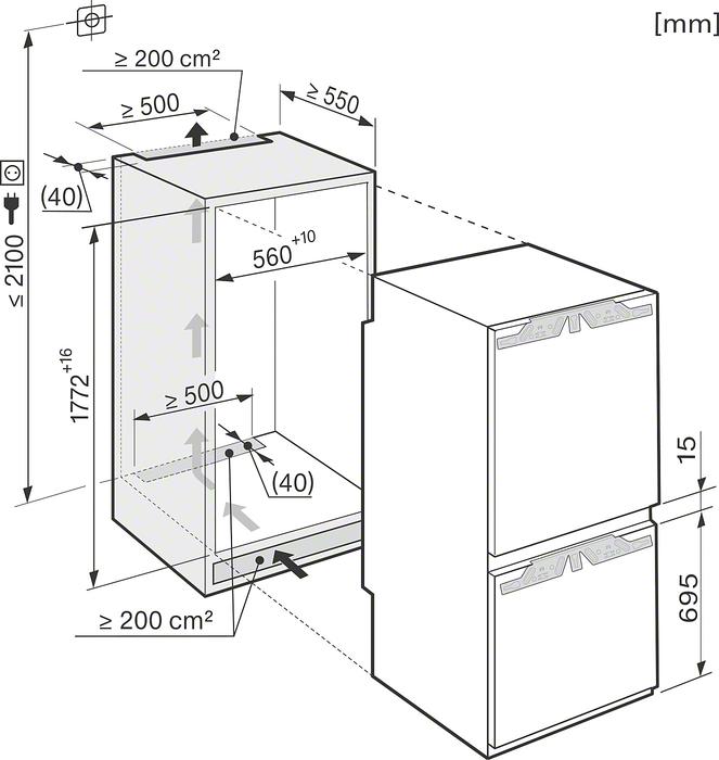 miele kfn 37282 id vs elektro. Black Bedroom Furniture Sets. Home Design Ideas