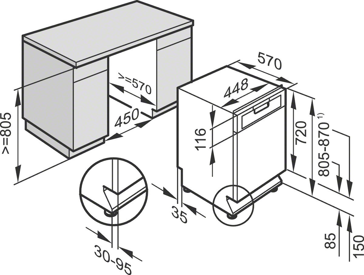 miele g 4820 scu unterbau geschirrsp ler edelstahl vs elektro. Black Bedroom Furniture Sets. Home Design Ideas