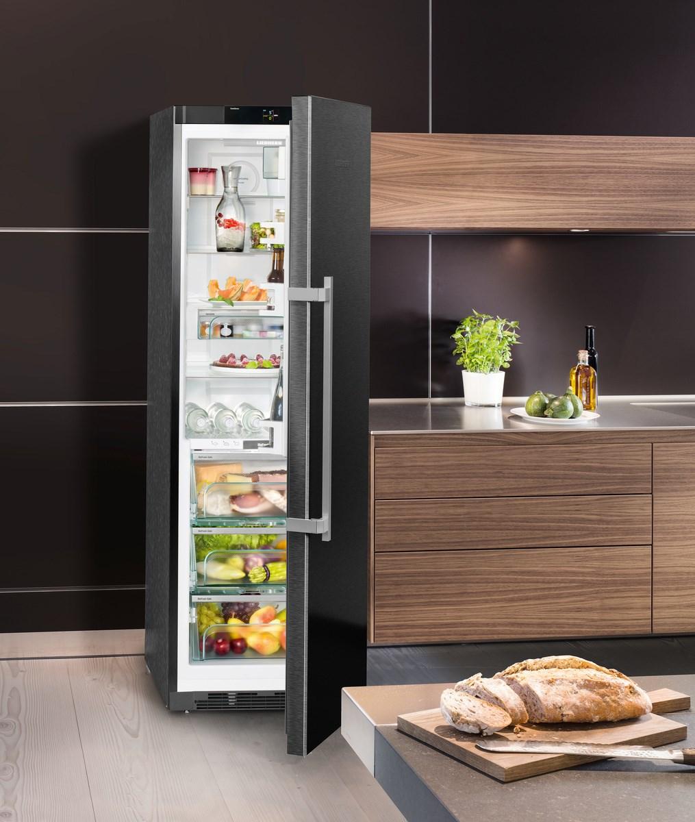 Liebherr Kühlschrank KBbs 4350 Premium BioFresh BlackSteel   VS Elektro