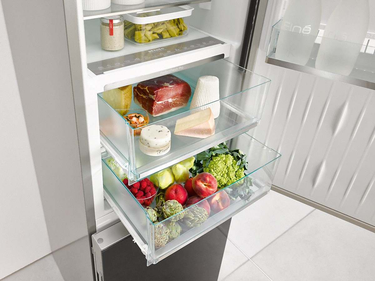 Bosch Kühlschrank Holiday Modus : Miele stand kühl gefrierkombination kfn 29683 d obsw vs elektro
