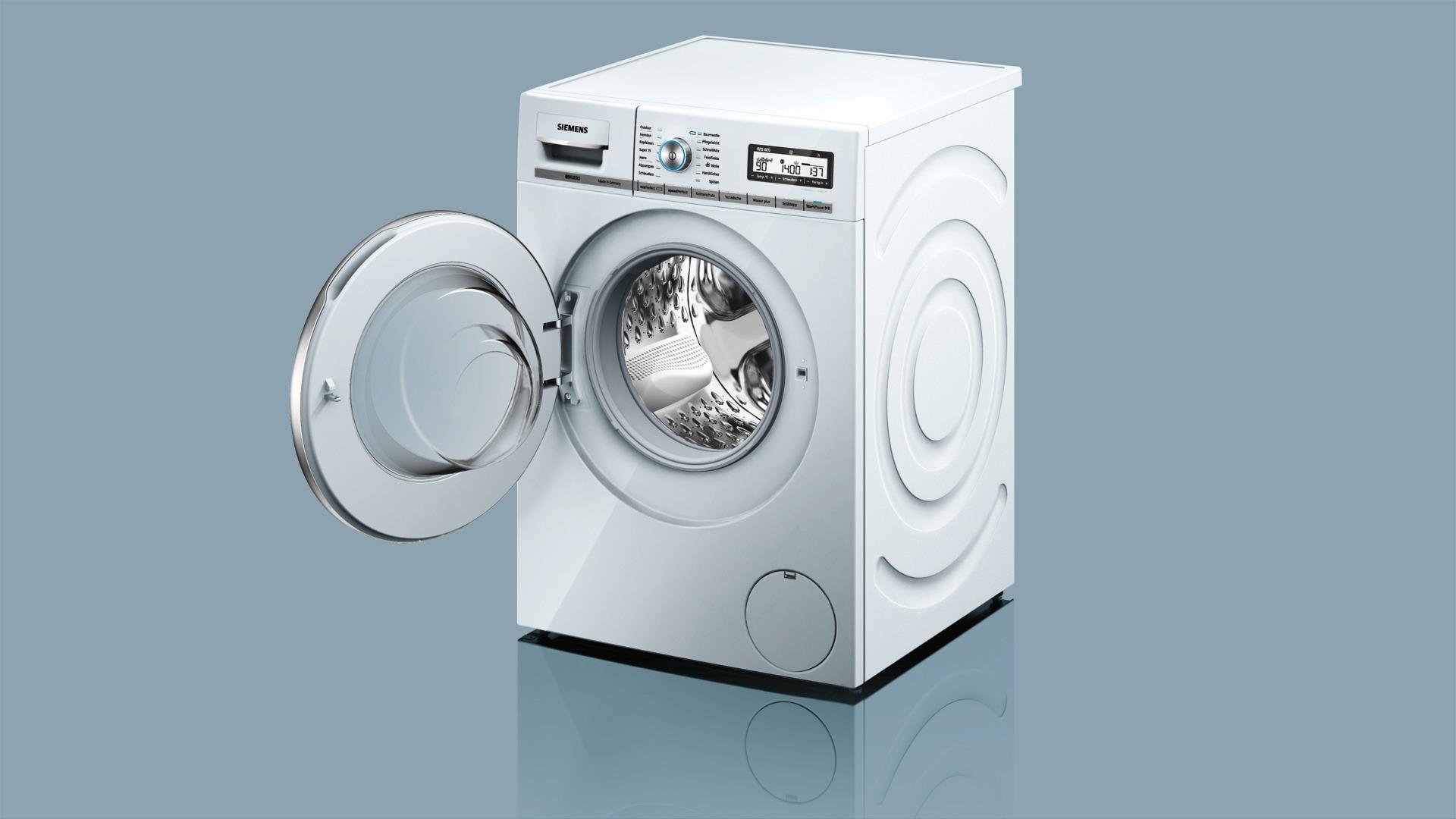 siemens extraklasse waschmaschine wm14y59d vs elektro. Black Bedroom Furniture Sets. Home Design Ideas