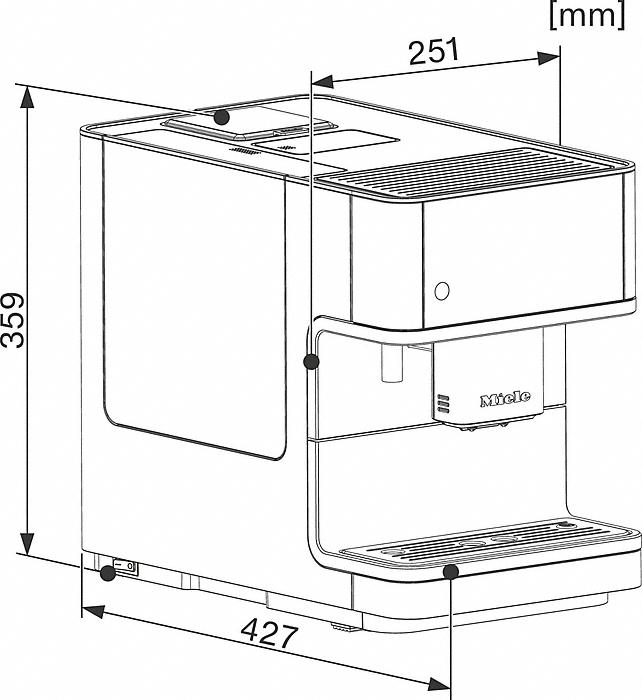 miele kaffeevollautomat cm 6350 lotoswei vs elektro. Black Bedroom Furniture Sets. Home Design Ideas