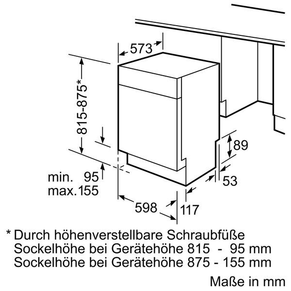 siemens sn48r565de extraklasse geschirrsp ler vs elektro. Black Bedroom Furniture Sets. Home Design Ideas