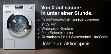 miele waschmaschine wkf 332 wps speedcare xl vs elektro. Black Bedroom Furniture Sets. Home Design Ideas